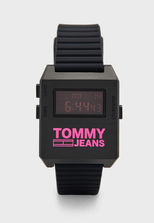 Silicone Strap Digital Watch