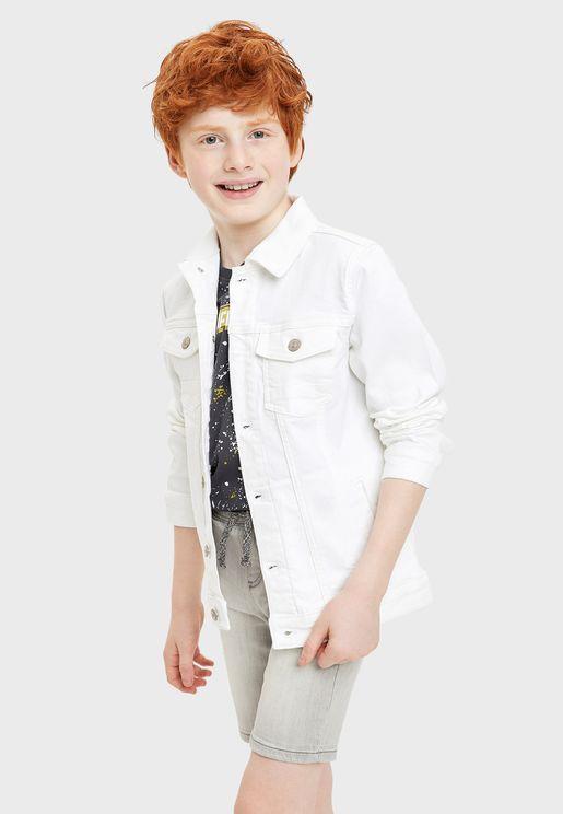 جاكيت جينز للاطفال