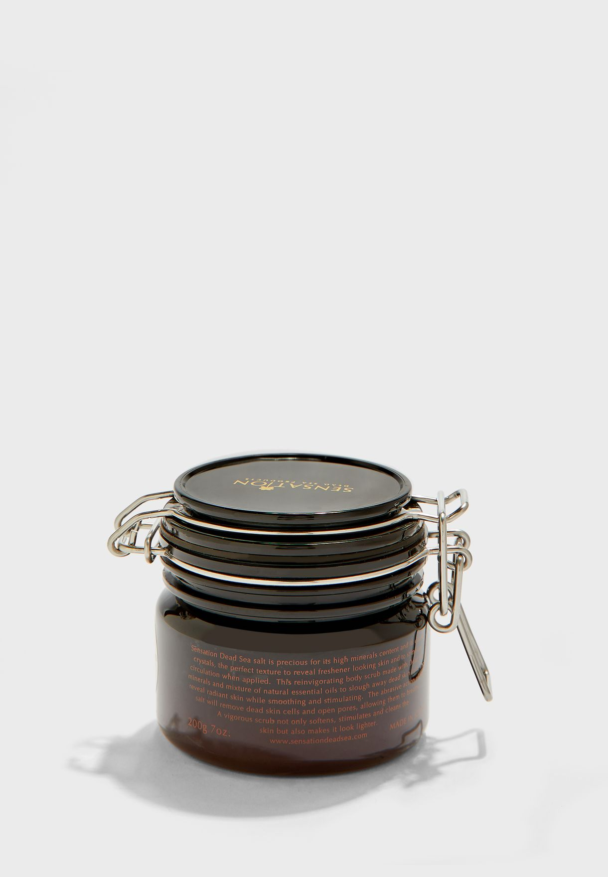 مقشر املاح البحر الميت - شاي اخضر وتفاح 200 جم