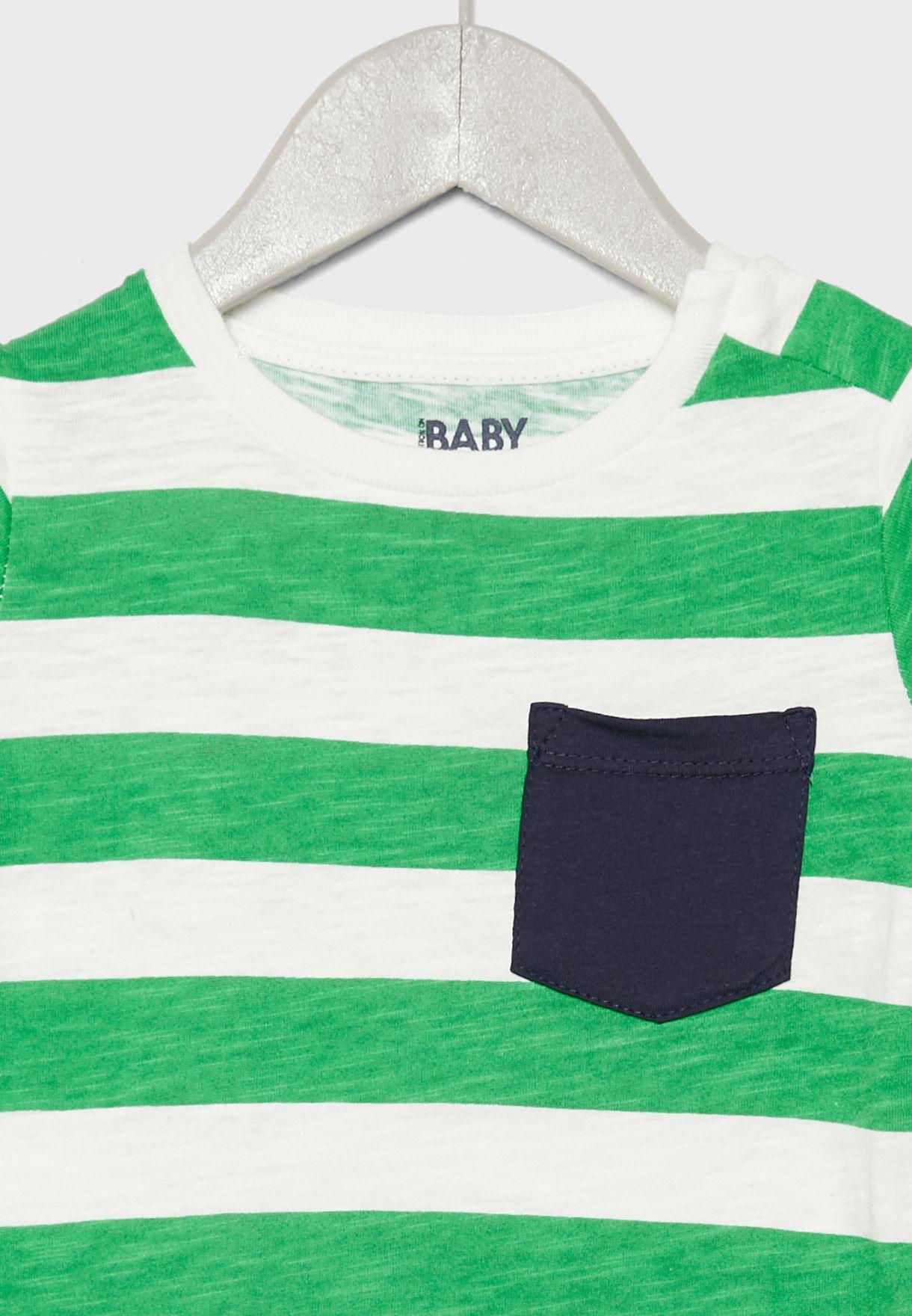 Infant Freddie Striped T-Shirt