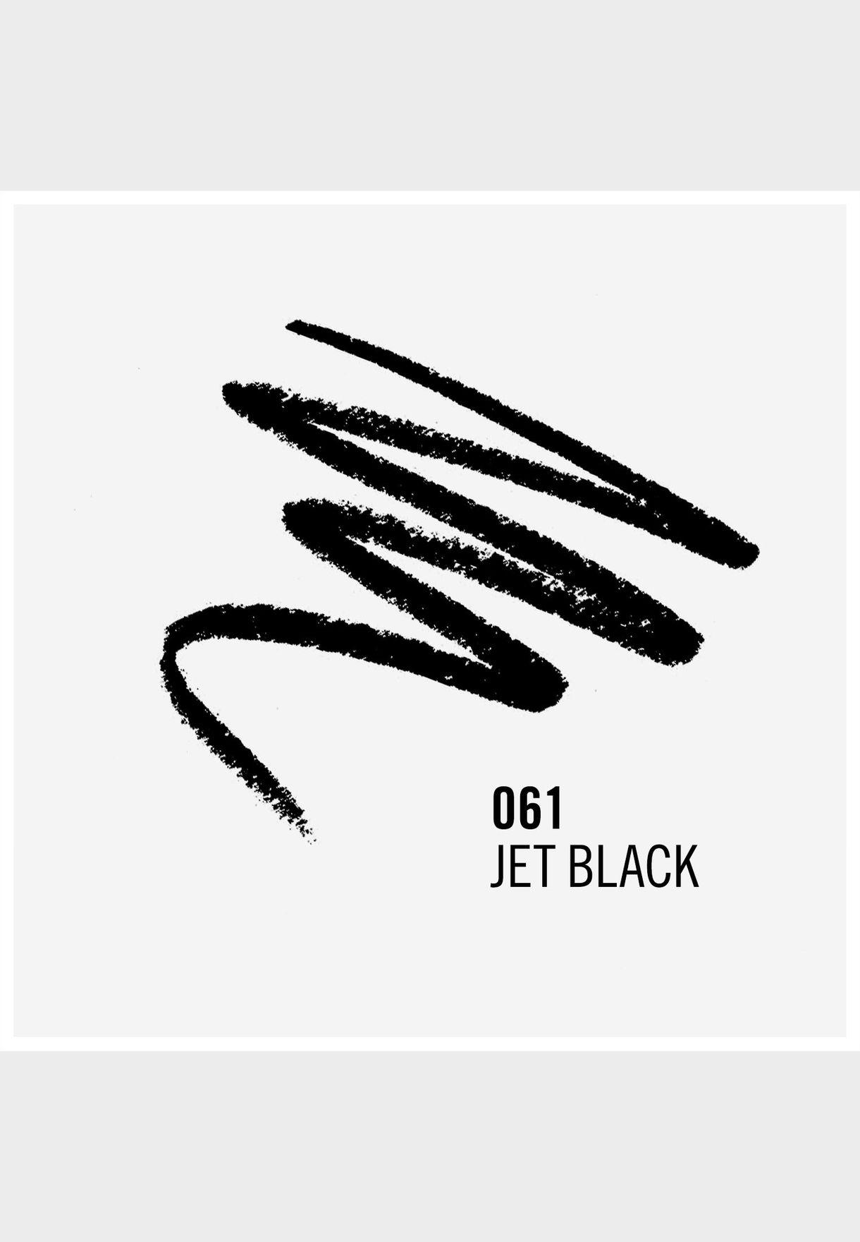قلم كحل ناعم - 61 جيت بلاك