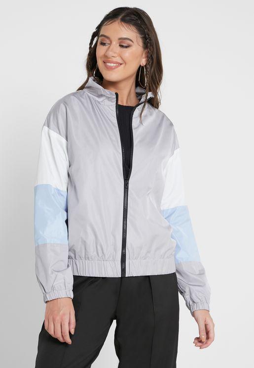 Colourblock Sporty Jacket