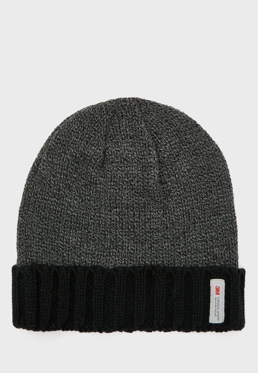 MENS FLEECE LINED THINSULATE HAT