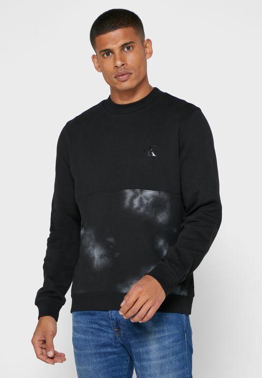 Cloud Print Sweatshirt