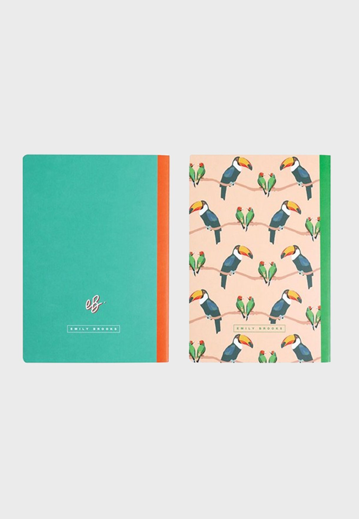 Set Of 2 Slim Notebook