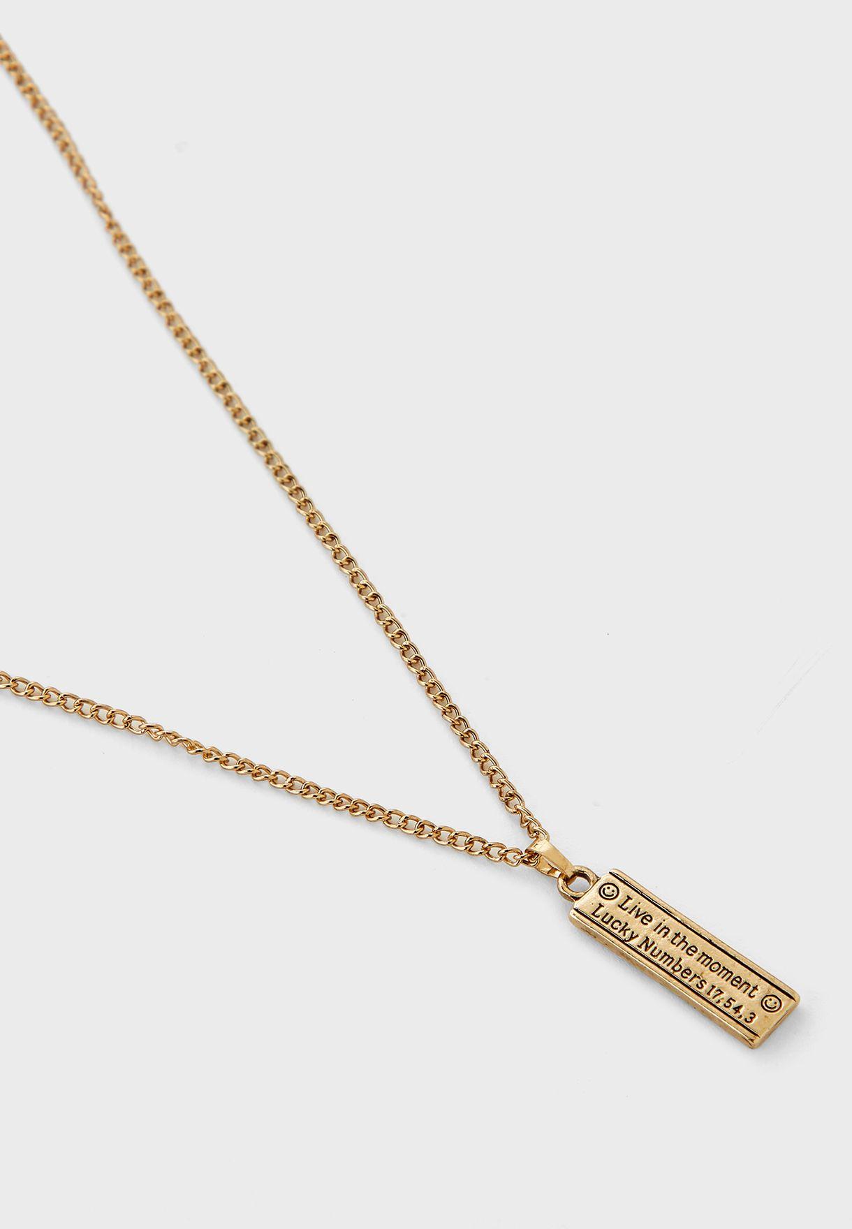 Conversational Fortune Necklace