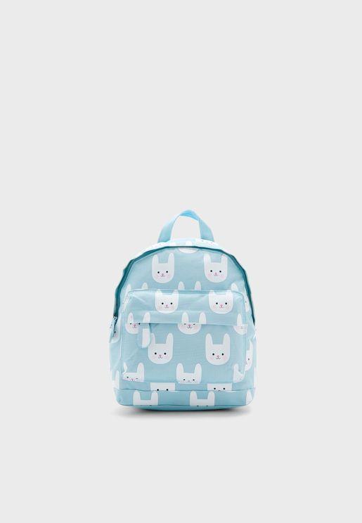 Kids Bonnie Bunny Mini Backpack
