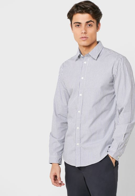 Harper Striped Slim Fit Shirt