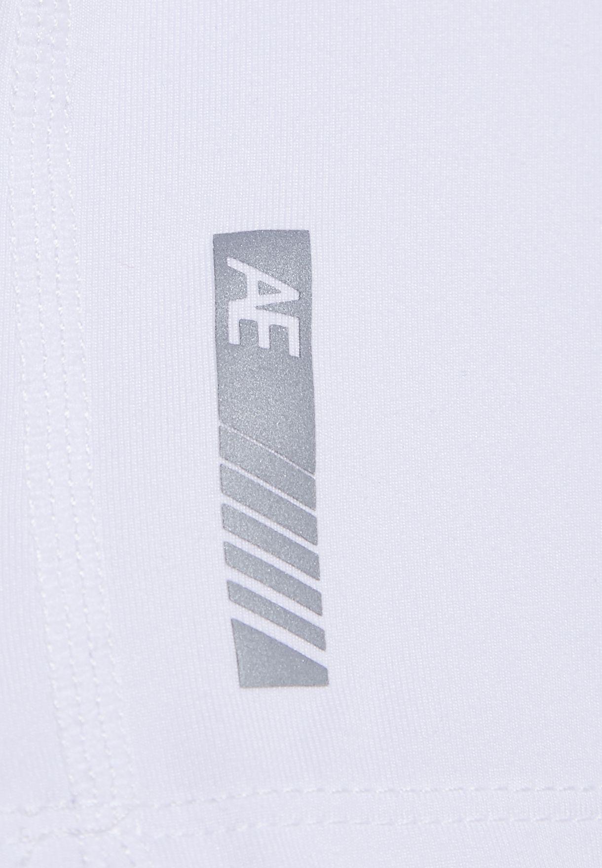 Kids Raglan Zip Detail T-Shirt