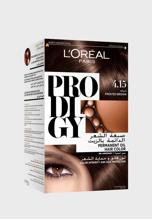 Prodigy Permanent Hair Color Frosted