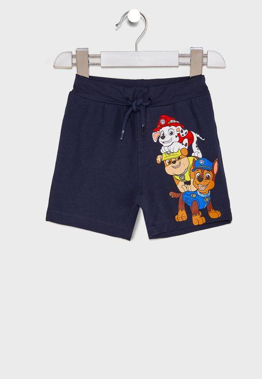 Kids Paw Patrol Characters Shorts