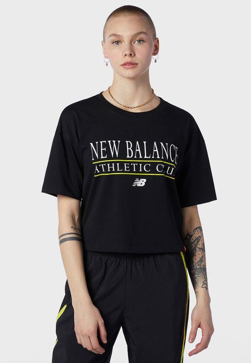 Essential Athletic Club Boxy T-Shirt