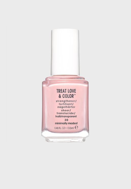 Strenghtening Nail  Polish  - Gentle Powdery Pink