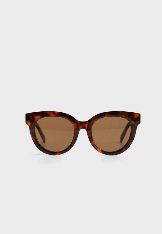 Claudia Acetate Frame Sunglasses