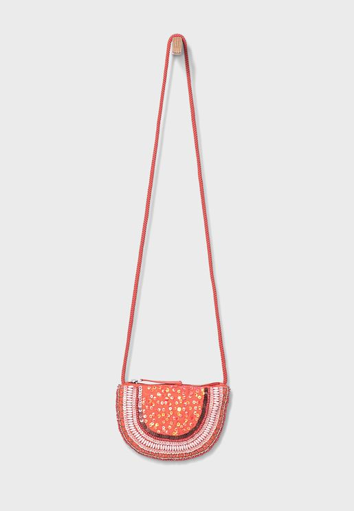 Kids Embroidered Bag