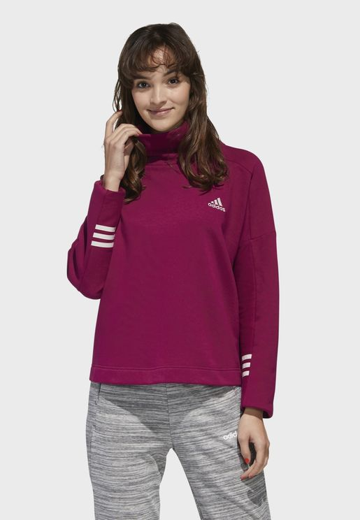 Essential Funnel Neck Sweatshirt