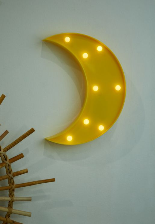 وحدة اضاءة ليد على شكل قمر