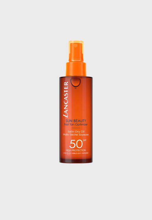 Sun Beauty Satin Dry Oil Spf50 150Ml