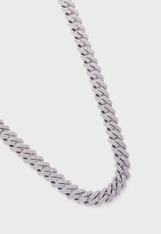 Cuban Chain Necklace - 18 Inches