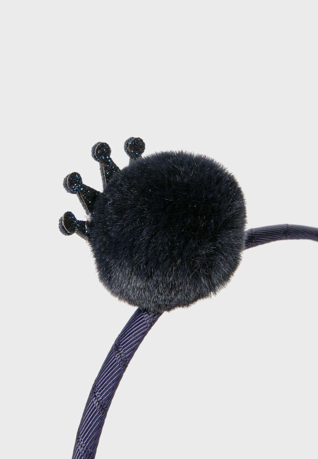 Kids Pompom Detail Headband