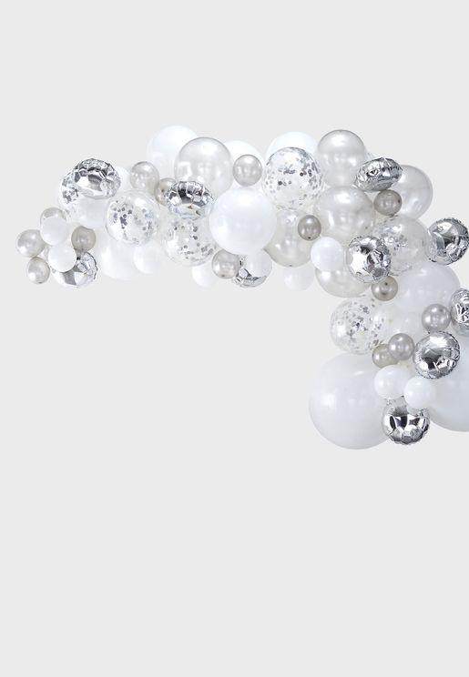 Balloon Arch - Silver