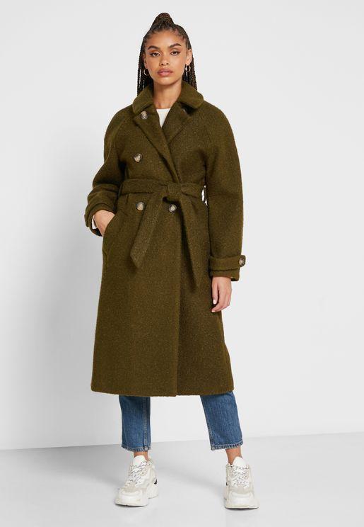 Longline Trench Coat