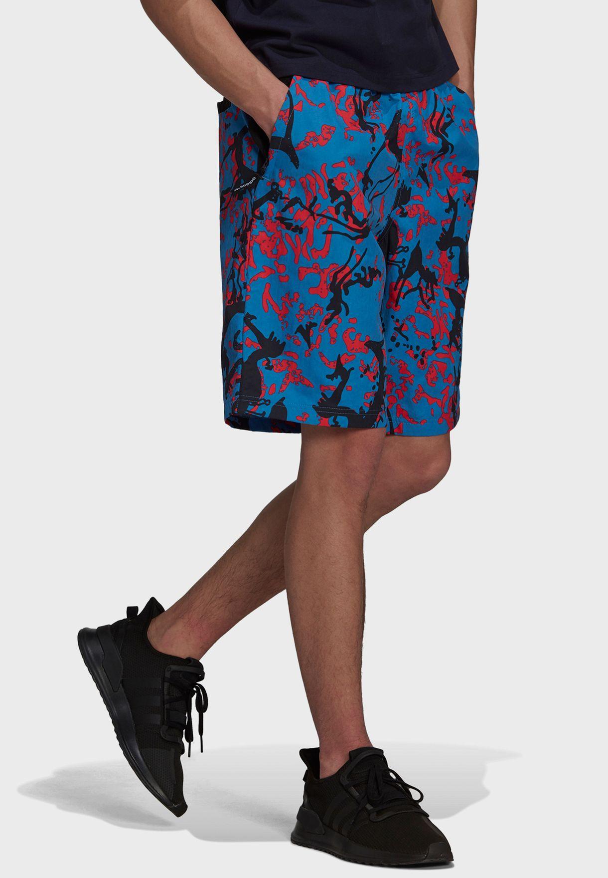 Aop Woven Shorts