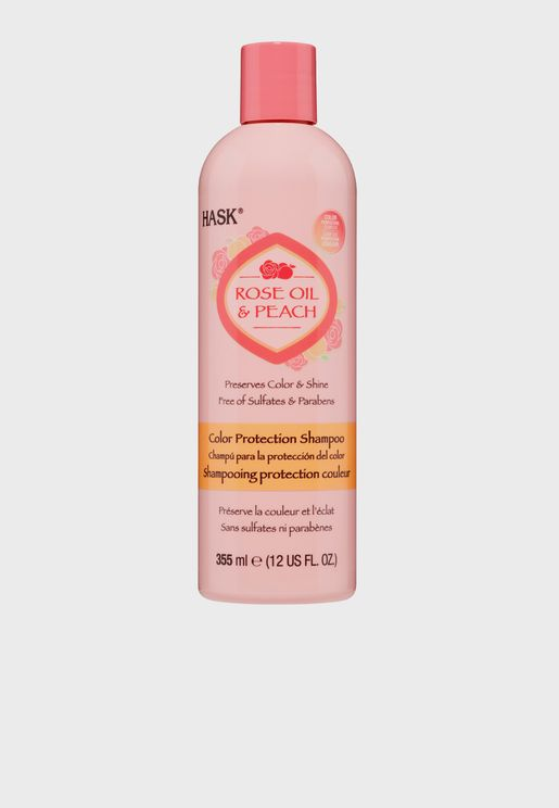 Rose Oil & Peach Color Protection Shampoo