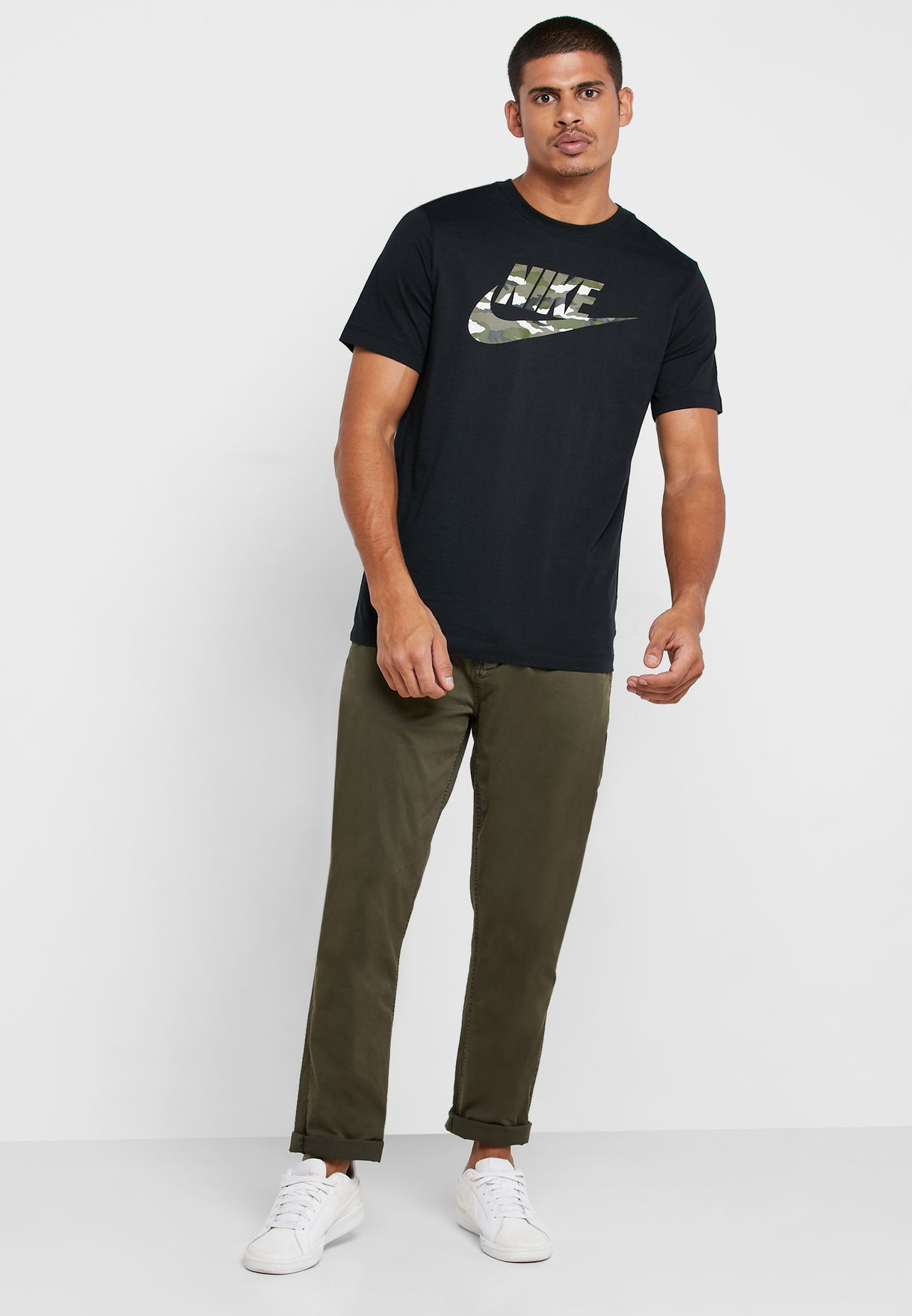 NSW Camo Logo T-Shirt