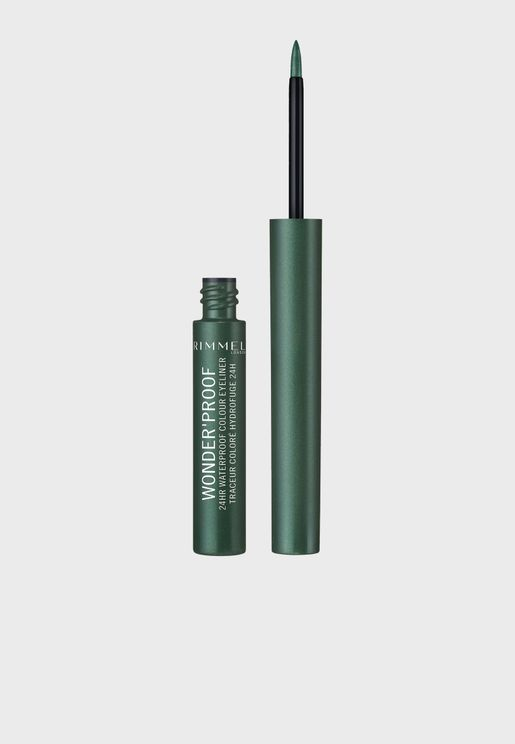 Wonder'Proof 24HR Colour Eyeliner-Precious Emerald