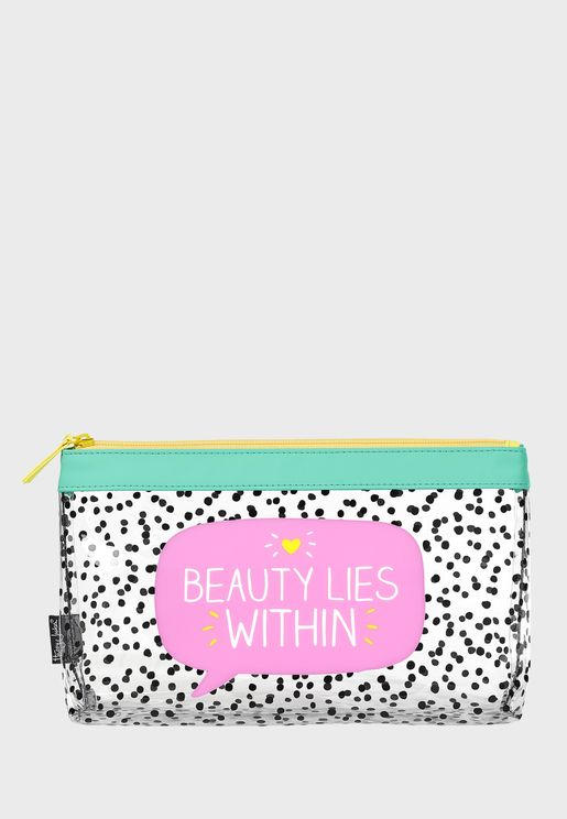 Beauty Lies Makeup Bag