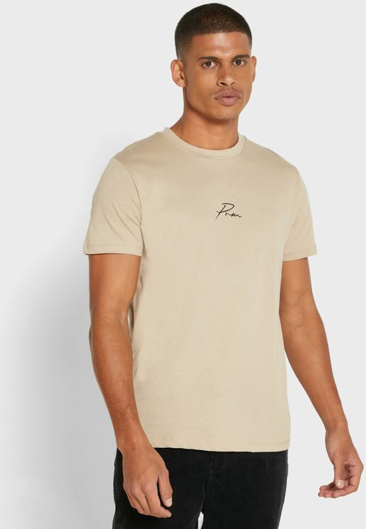 Premium Regular Fit Crew Neck T-Shirt