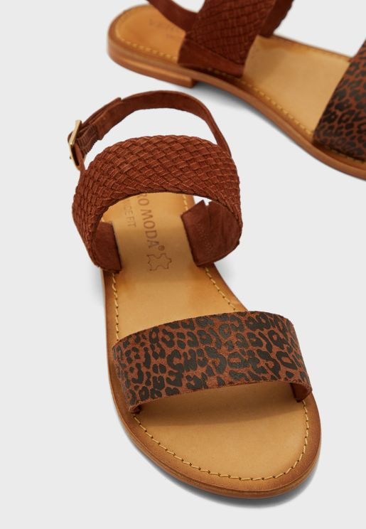 Wide Fit Pinota Buckle Sandal