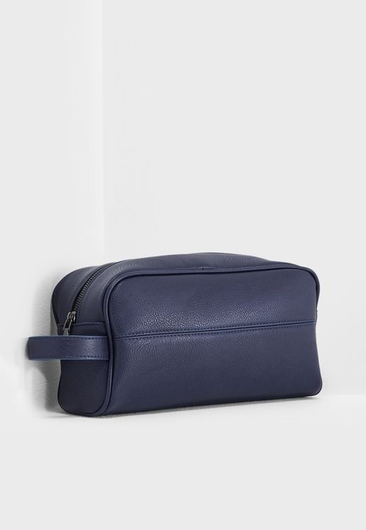 Casual Navy Toiletry Bag