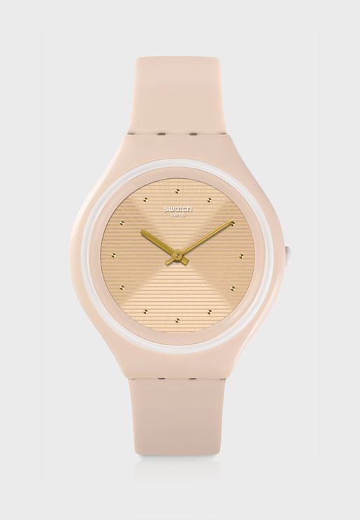 Ultra Thin Analog Watch