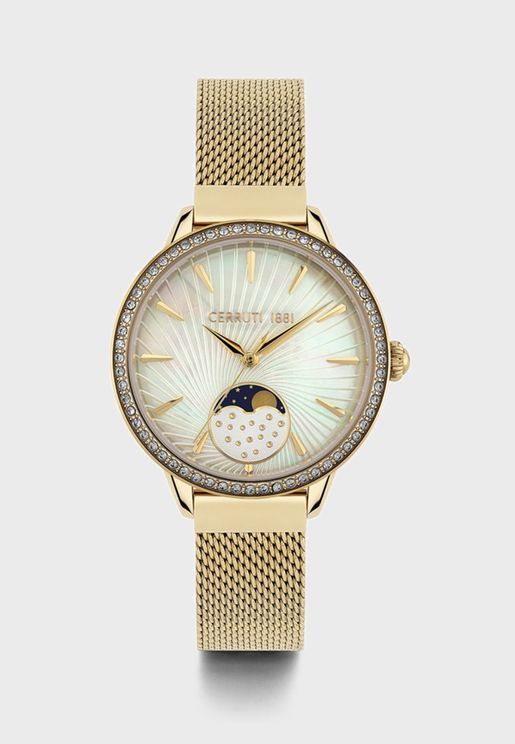 Rosara Analog Watch