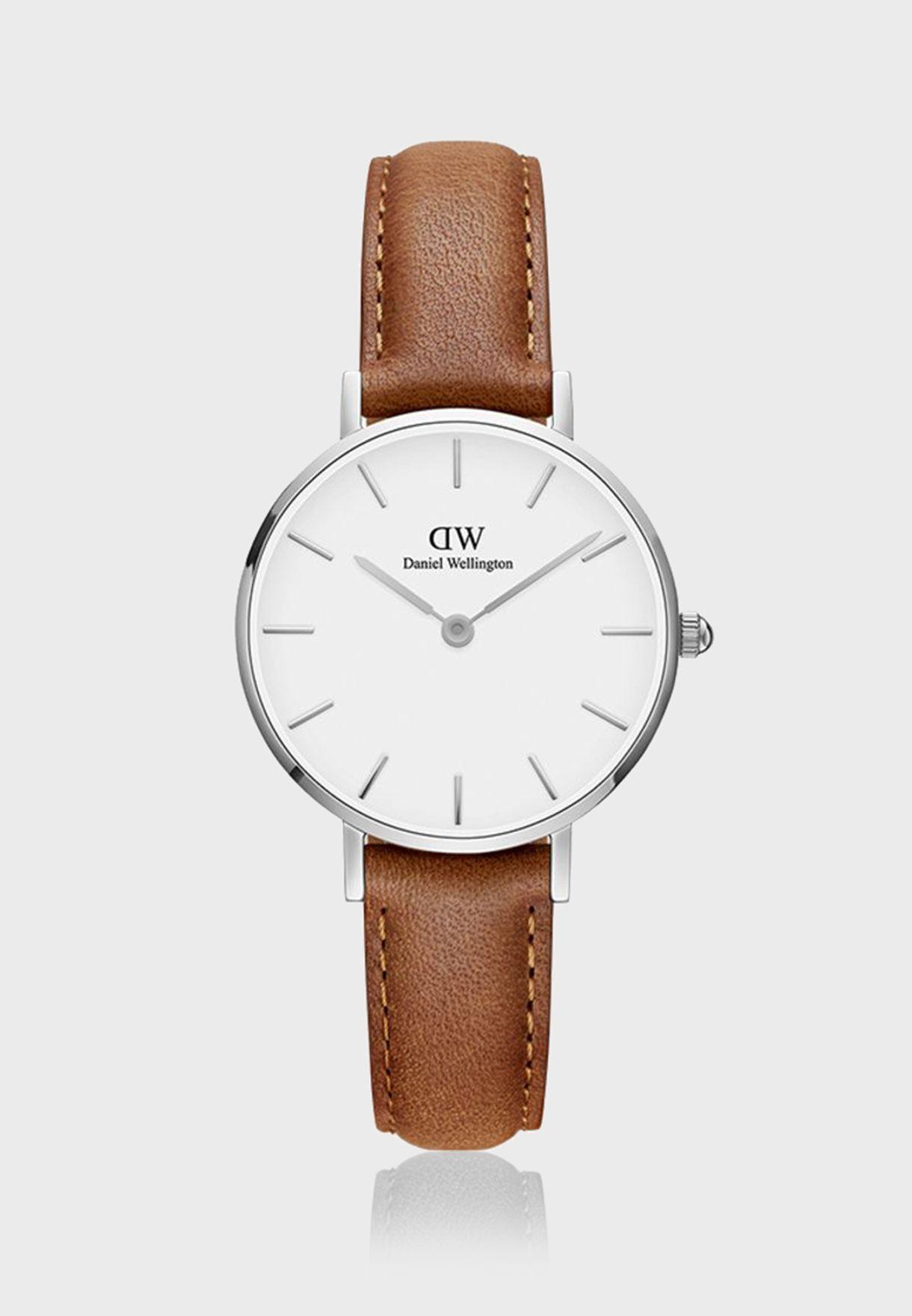 Petite Durham S White 28mm Watch DW00100240