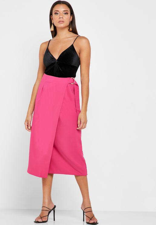 D-Ring Wrap Skirt