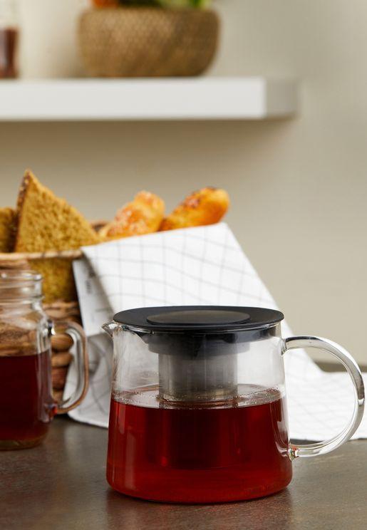 ابريق شاي شفاف