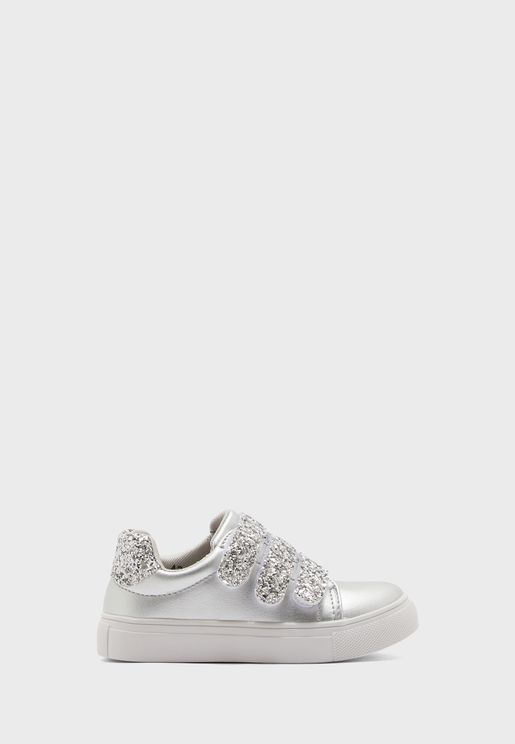 Kids Lace Up Casual Sneaker