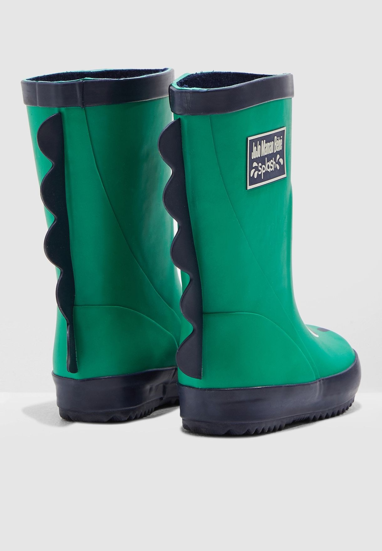 Kids Dino Wellington Boots