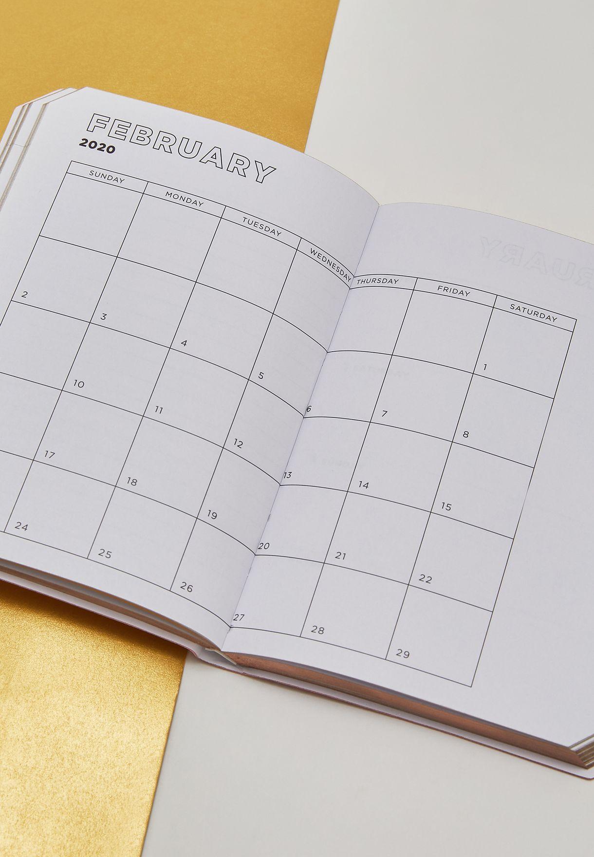 دفتر مذكرات اسبوعي