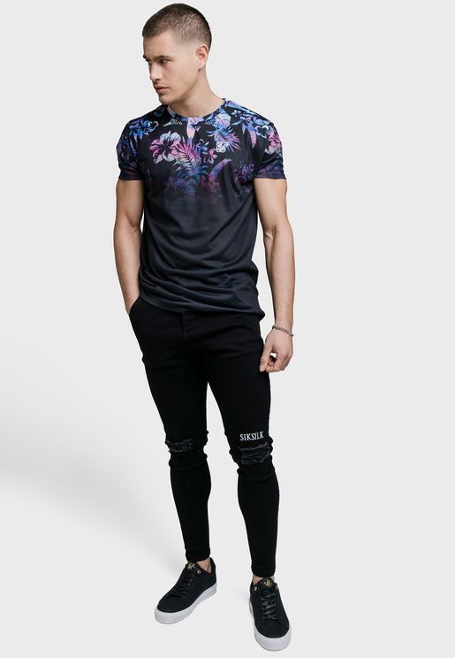 Hawaii High Fade T-Shirt