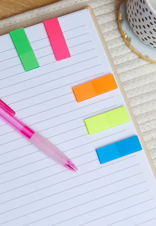 Multicoloured Sticky Notes