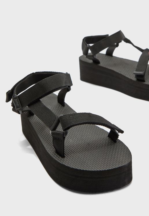 Wide Fit Sport Strap Sandals
