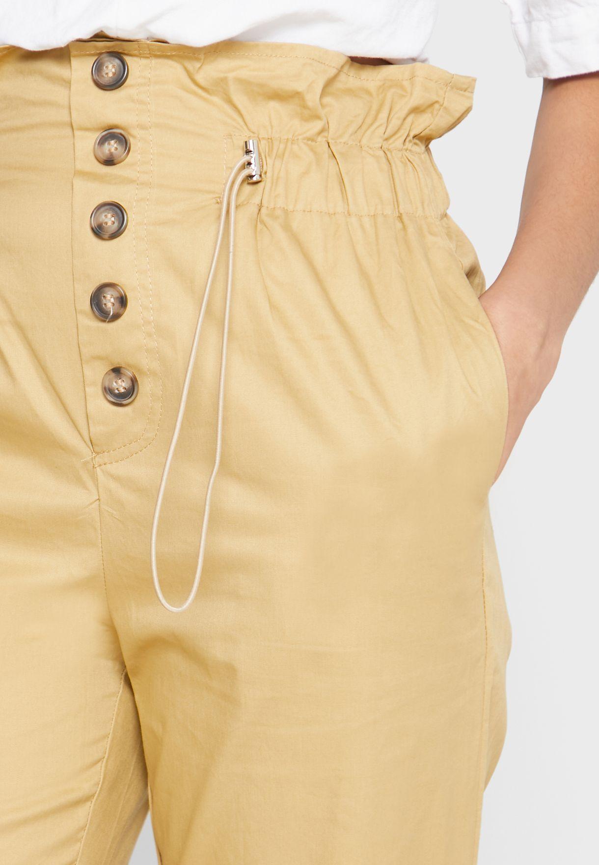 Paperbag Waist Pants