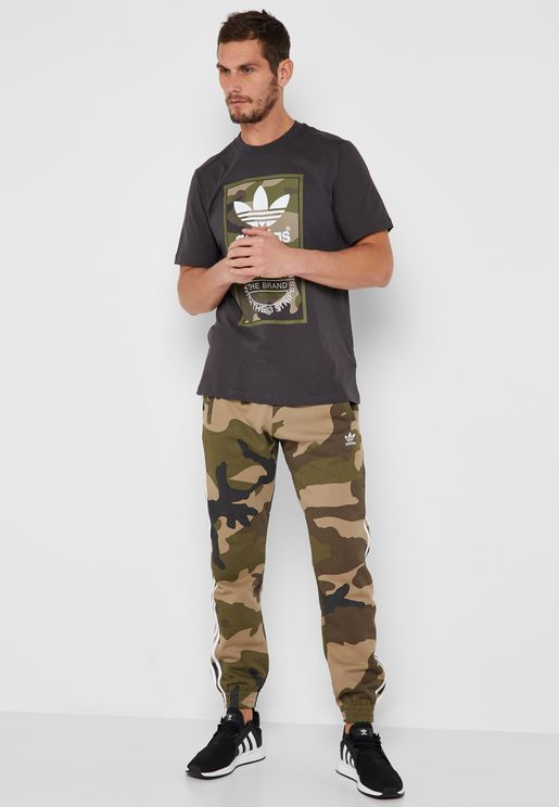 Camo Fleece Sweatpants