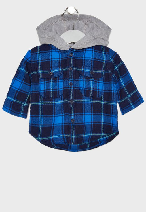 Infant Hooded Shirt