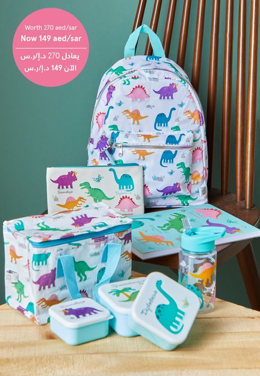 Roarsome Dinosaurs Back To School Set