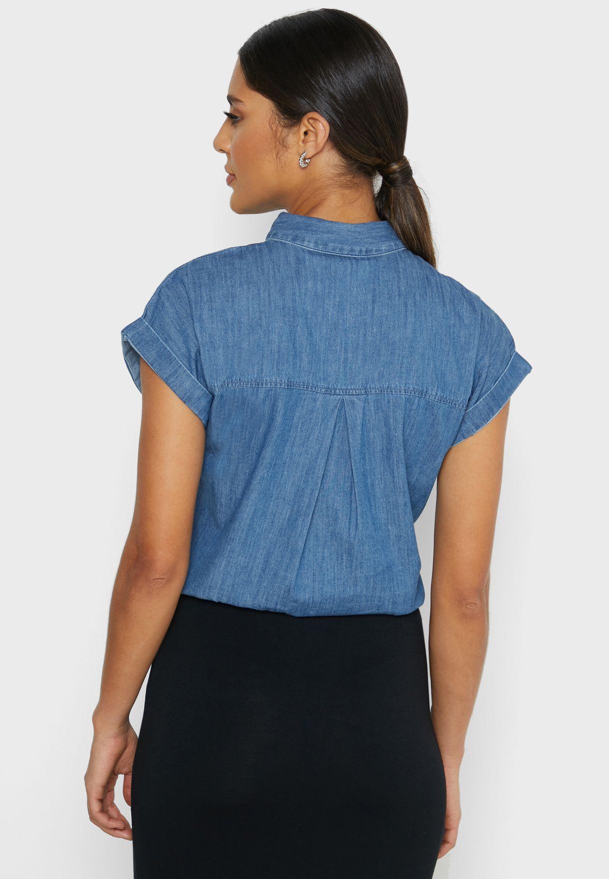 قميص جينز
